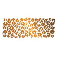 Hot Leopard Spots - Stencil by Dinair