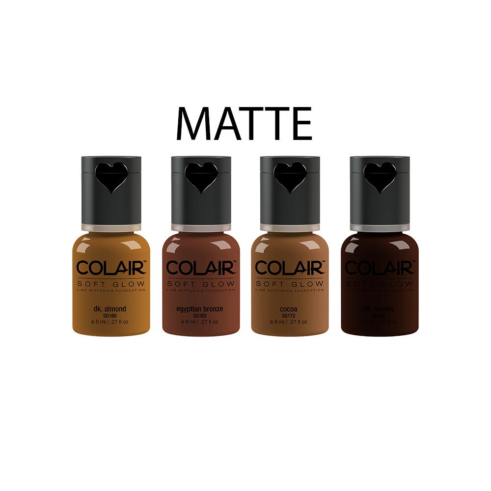Matte Foundation Collection - Dark .27 fl oz