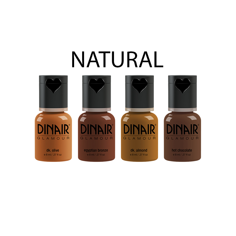 Natural Foundation Collection - Dark .27 fl oz