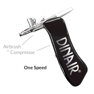 Airstyle Airbrush/Compressor Cordless, Rechargeable, USB