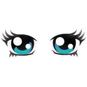 Anime Eyes Stencil