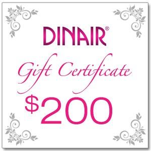 Dinair Gift Certificate - $200