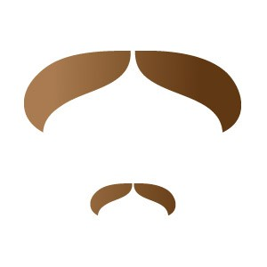 Mustachio Stencil Kit