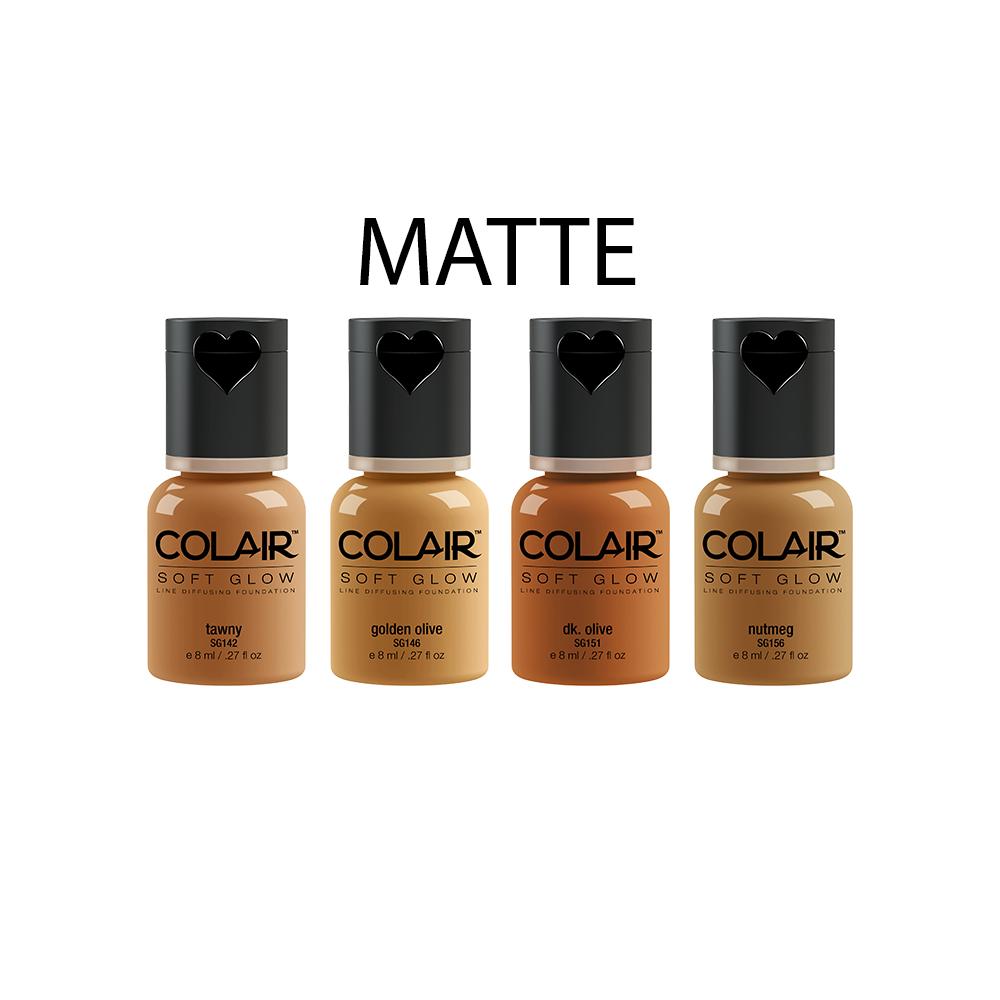 Matte Foundation Collection - Tan .27 fl oz