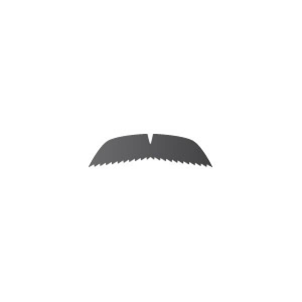 Cookie Duster Mustache Stencil