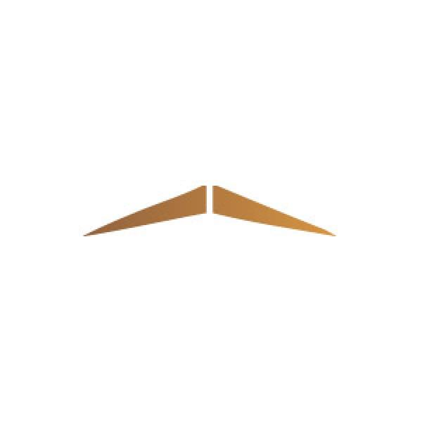 Pencil Mustache Stencil