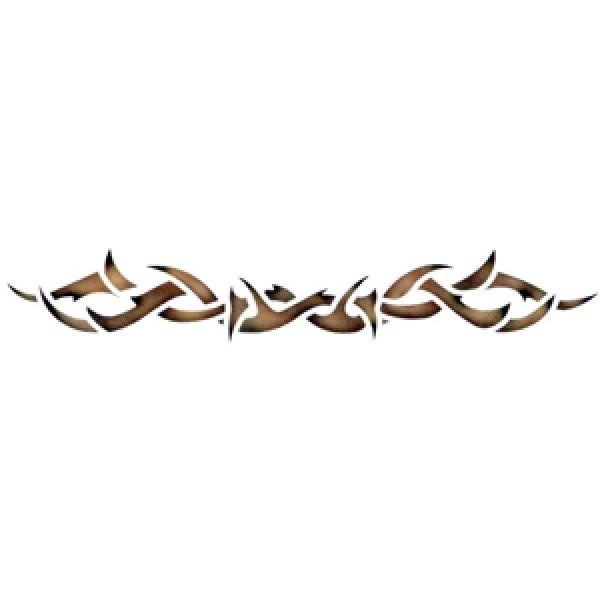 Thorns Stencil By Dinair Tribal Stencils