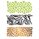 New Animal Prints Stencil Collection