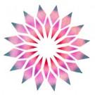 Crystal Flower - Stencil by Dinair