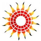 Fire Wheel - Stencil by Dinair