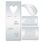 Multi-Hearts Stencil Collection