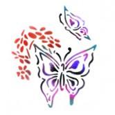 Butterflies - Stencil by Dinair