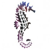 Sea Horse 1 - Stencil by Dinair