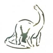 Dinosaur Long Neck - Stencil by Dinair
