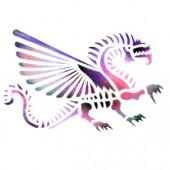 Dragon 1 - Stencil by Dinair