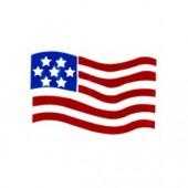 Freedom Flag stencil