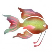 Goldfish - Stencil by Dinair