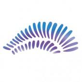 Gossamer Leaf - Stencil by Dinair