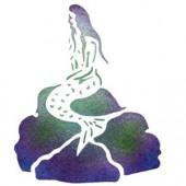 Mermaid - Stencil by Dinair