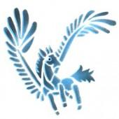 Pegasus - Stencil by Dinair