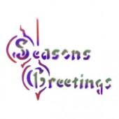 Seasons Greetings - Stencil by Dinair