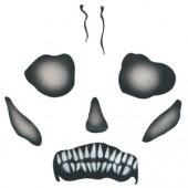Skull Mask - Child - Stencil by Dinair