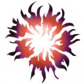 Solar Fire - Stencil by Dinair