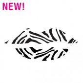 Wild Zebra Lips Stencil