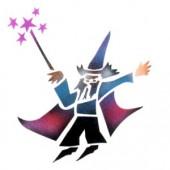 Wizard 1 - Stencil by Dinair