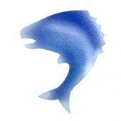 Fish - Stencil by Dinair