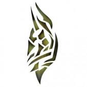 Forearm 1 - Stencil by Dinair