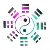 I Ching & Yin Yang - Stencil by Dinair