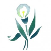 Lily - Stencil by Dinair
