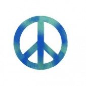 Peace Sign - Stencil by Dinair