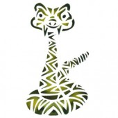 Rattler - Stencil by Dinair