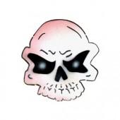 Skull Head - Stencil by Dinair