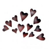 Splash of Hearts - Stencil by Dinair